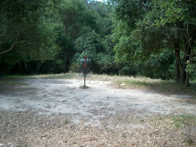 DeLaveaga Park, Main course, Hole 4 Alternate pin