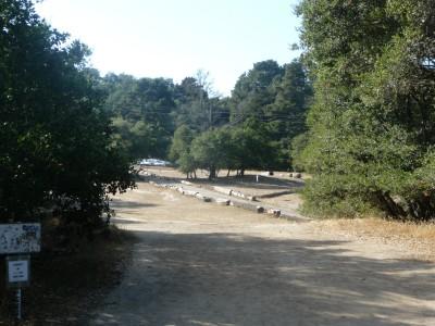 DeLaveaga Park, Main course, Hole 22 Tee pad