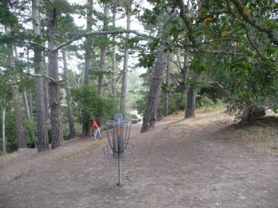 DeLaveaga Park, Main course, Hole 26 Reverse (back up the fairway)