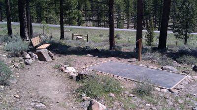 Turtle Rock Park, Main course, Hole 5 Reverse (back up the fairway)