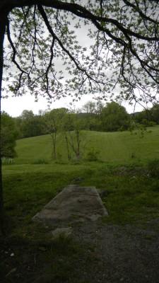 Harmon Farm, Harmon Hills, Hole 10 Tee pad