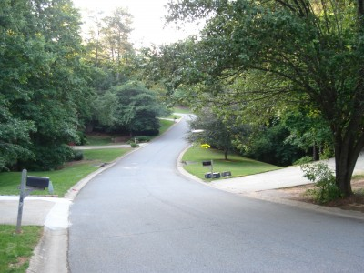 Old Peachtree Walk, Main course, Hole 6 Long approach