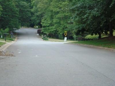 Old Peachtree Walk, Main course, Hole 13 Midrange approach