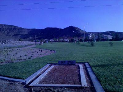 Armagosa Trail, Henderson Course, Hole 7 Tee pad