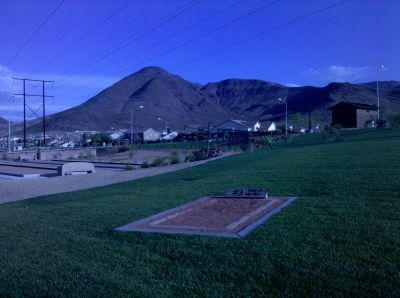 Armagosa Trail, Henderson Course, Hole 3 Tee pad