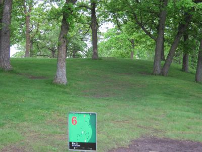 Crown College, Main course, Hole 6 Long tee pad