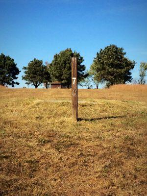 Eisenhower State Park, Melvern Lake, Hole 7 Short tee pad