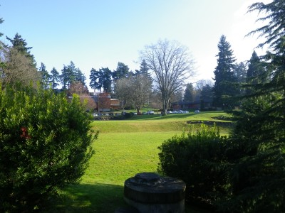 Northwest University, Northwest University DGC, Hole 1 Tee pad