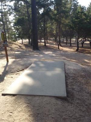 Waller Park, Main course, Hole 12 Tee pad