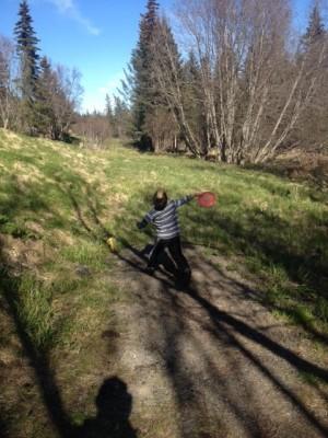 Jack Gist Park, Main course, Hole 4 Long tee pad