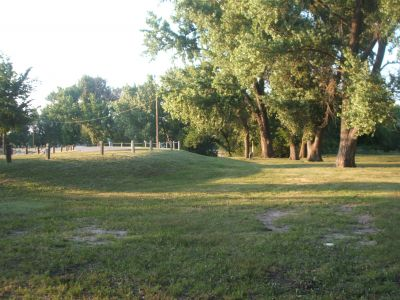 Lake Atwood, Main course, Hole 13 Tee pad