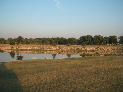 Lake Atwood, Main course, Hole 18 Tee pad