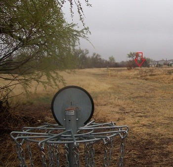 Cumberland Green Open Space, Main course, Hole 3 Reverse (back up the fairway)