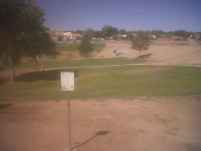 Canyon Park, Canyon Park, Hole 1 Tee pad