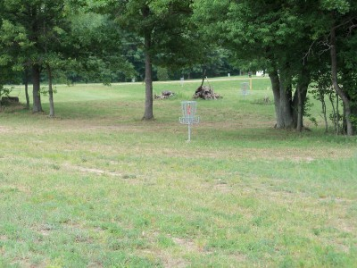 Marion Township Hall, Main course, Hole 7 Short approach