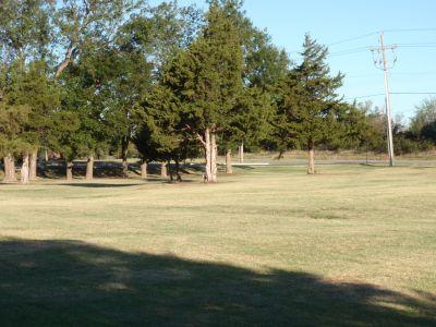 Wild Horse Park, Main course, Hole 9 Long tee pad