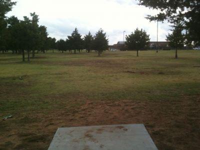 Wild Horse Park, Main course, Hole 4 Tee pad