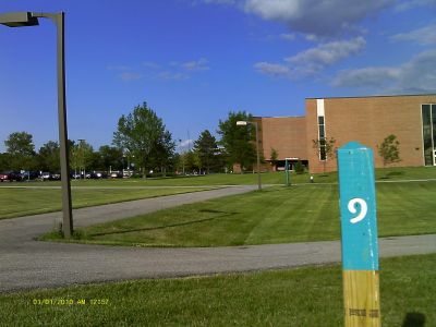 Cuyahoga Community College, Tri C West, Hole 9 Long tee pad