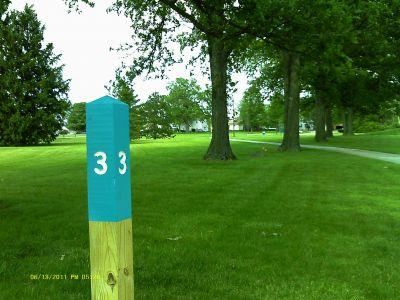 Cuyahoga Community College, Tri C West, Hole 3 Long tee pad