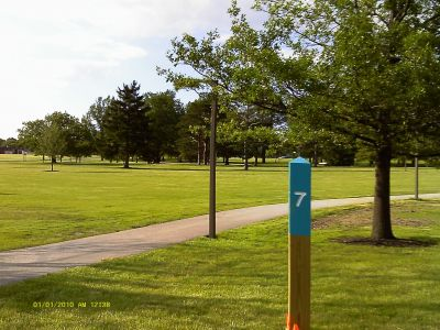 Cuyahoga Community College, Tri C West, Hole 7 Long tee pad