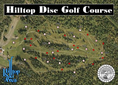 Hilltop DGC, Main course, Hole 1