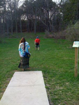 Zobel Park, Main course, Hole 14 Short tee pad