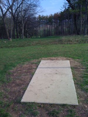 Zobel Park, Main course, Hole 6 Short tee pad