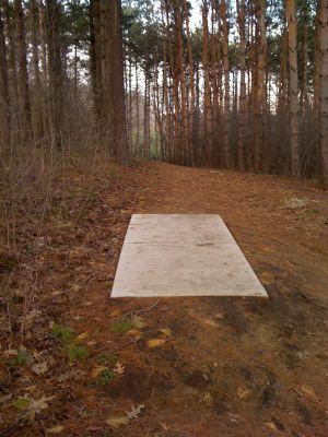 Zobel Park, Main course, Hole 15 Short tee pad
