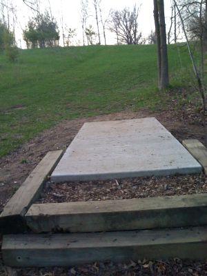 Zobel Park, Main course, Hole 16 Short tee pad