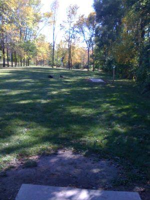 Zobel Park, Main course, Hole 10 Long tee pad