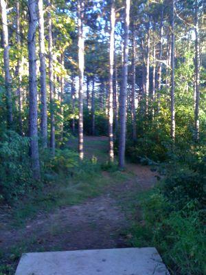 Zobel Park, Main course, Hole 12 Long tee pad