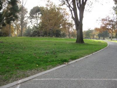Whittier Narrows Park, Main course, Hole 7 Tee pad