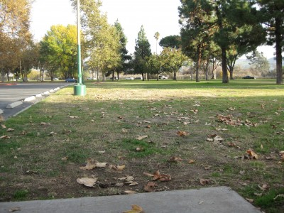 Whittier Narrows Park, Main course, Hole 10 Tee pad