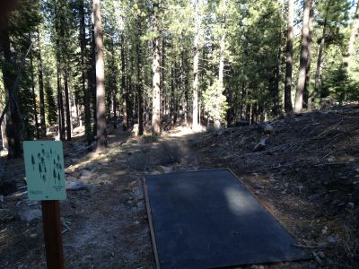 Sierra College, Main course, Hole 13 Tee pad