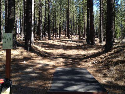Sierra College, Main course, Hole 3 Tee pad