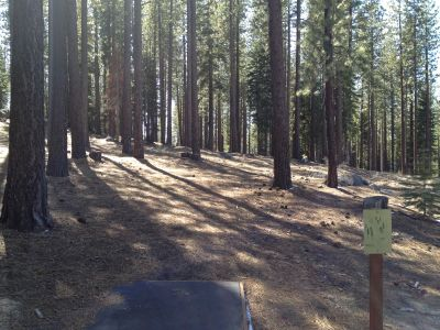 Sierra College, Main course, Hole 1 Tee pad