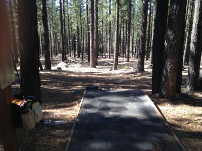 Sierra College, Main course, Hole 2 Tee pad