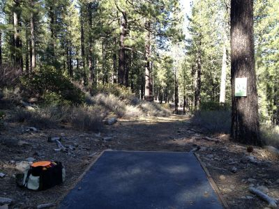 Sierra College, Main course, Hole 14 Tee pad