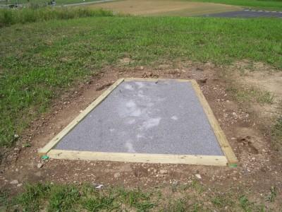Schneider Park, Main course, Hole 2 Tee pad