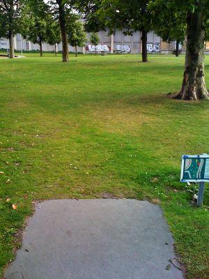 Roel Langerakpark, Main course, Hole 15 Tee pad