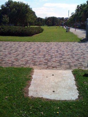 Roel Langerakpark, Main course, Hole 11 Tee pad