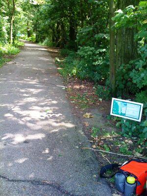 Roel Langerakpark, Main course, Hole 4 Tee pad