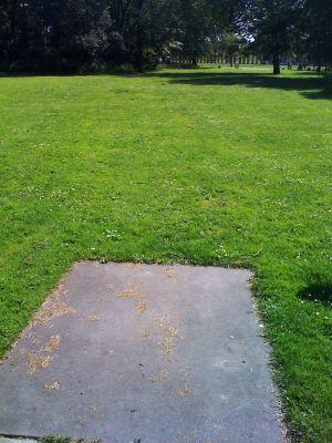 Roel Langerakpark, Main course, Hole 13 Tee pad