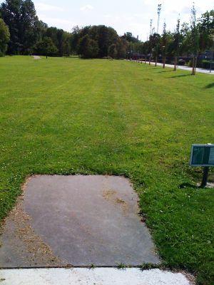 Roel Langerakpark, Main course, Hole 12 Tee pad