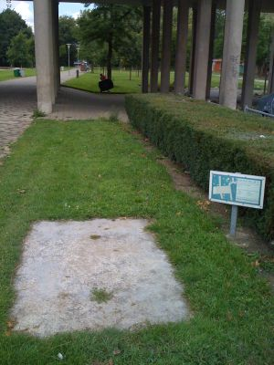 Roel Langerakpark, Main course, Hole 1 Tee pad
