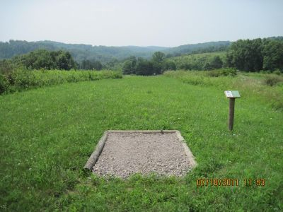 Hocking Peaks Adventure Park, Hocking Peaks DGC, Hole 16 Long tee pad