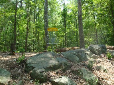 Robert L. Smith Park, Main course, Hole 9 Putt