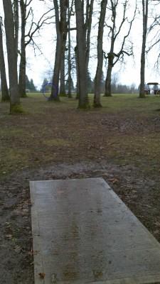 Clark Park, Main course, Hole 8 Long tee pad