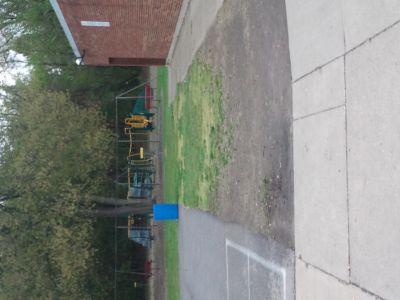 Dorr Street Elementary, Main course, Hole 1 Tee pad