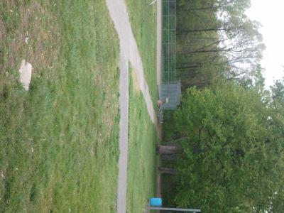 Dorr Street Elementary, Main course, Hole 9 Tee pad